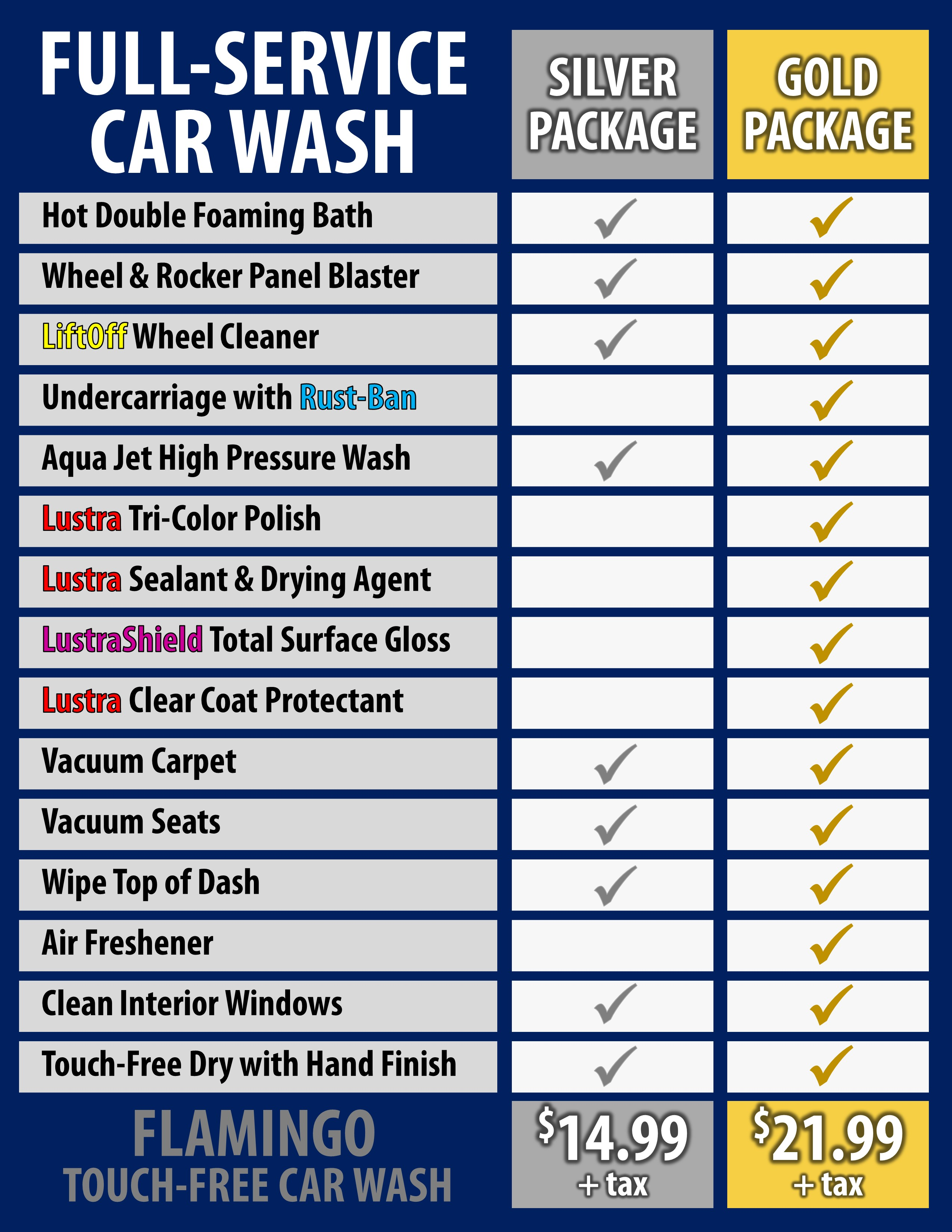 Hand Wash Car Wash >> Car Washes – Flamingo Car Wash
